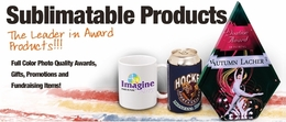 Sublimatable Gifts and Awards